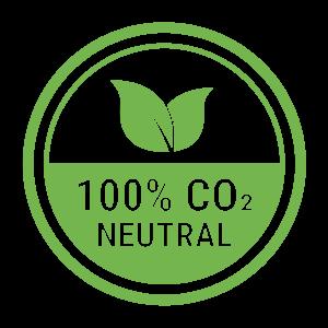 100% CO2 NEUTRAL